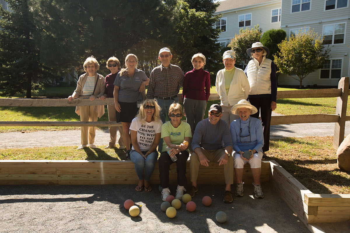 Bocce Ball Group